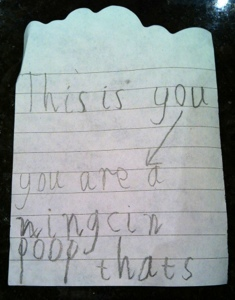 The best love letter from a child