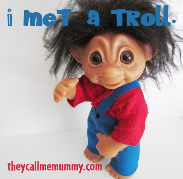 I met a troll on Mamapedia