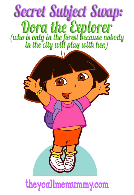 Dora the irritating explorer