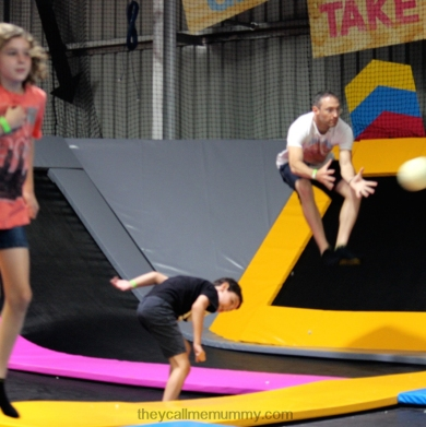 Airborne dodgeball - even grown-ups can join in.